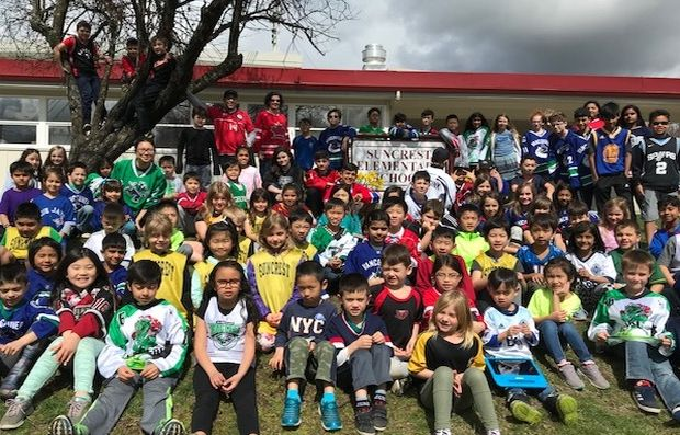Suncrest Students Staff And Families Support Humbolt Suncrest