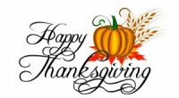 We wish the Suncrest Community a Happy Thanksgiving and hope that you enjoy the long weekend! Please remember that there is no school on Monday, October 12.